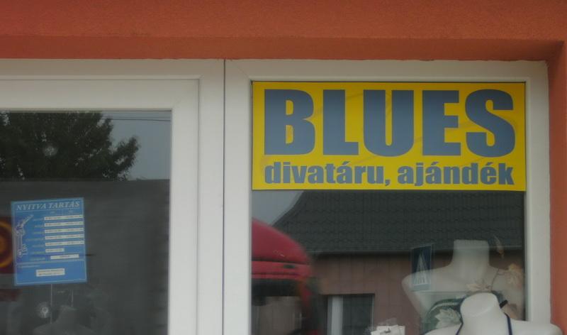 Blues Divatárú, Ajándék Bolt