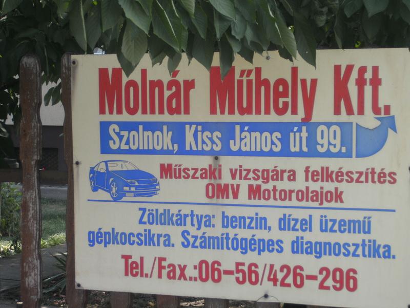 Molnár Műhely Kft.