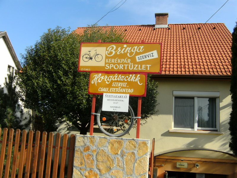 Bringa Kerékpár üzlet és szervíz