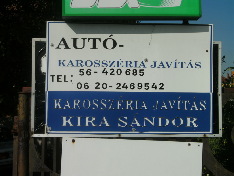 Autókarosszéria Javítás