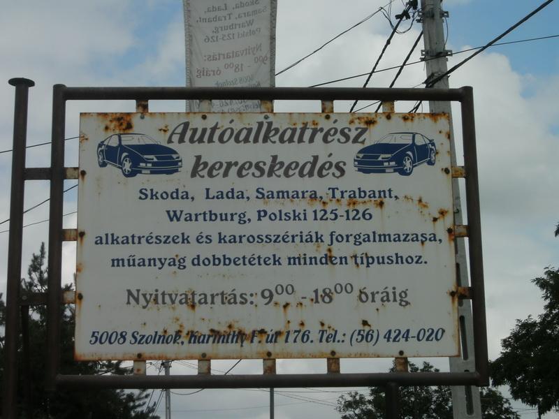 Autóalkatrész Kereskedés